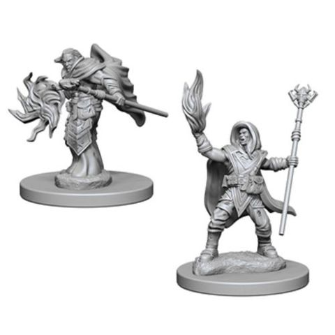Dungeons And Dragons: Nolzurs Marvelous Unpainted Miniatures - Elf Wizard (Male)