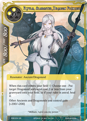 Ryula, Alabaster Dragon Princess - RDE-004 - SR
