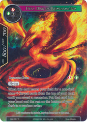 Fiery Bird of Protection (Full Art) - RDE-057 - R