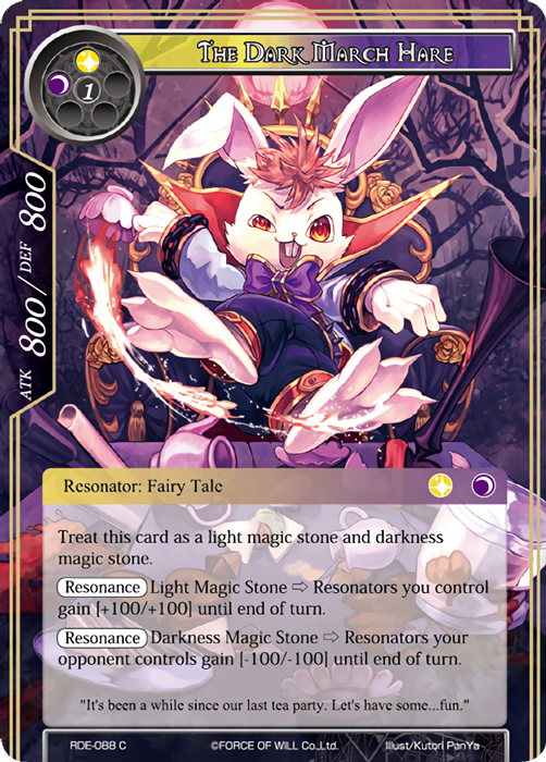 The Dark March Hare - RDE-088 - C - Foil