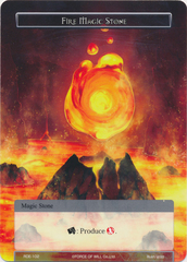 Fire Magic Stone - RDE-102 - C - Foil