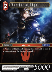 Warrior Of Light - 1-005R - Foil