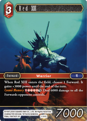 Red XIII - 1-191S - Foil