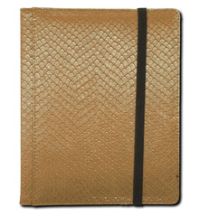 Legion 4 Pocket Dragon Hide Binder:  Gold