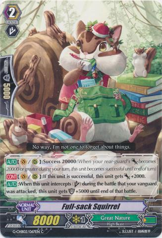 Full-sack Squirrel - G-CHB02/067EN - C
