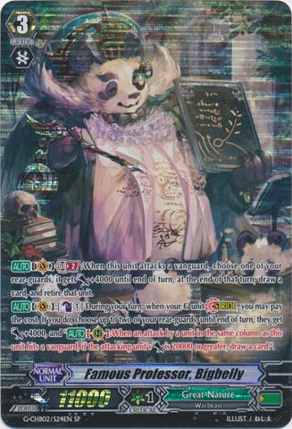 Famous Professor, Bigbelly - G-CHB02/S24EN - SP