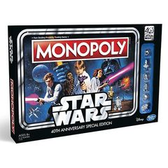 Monopoly - Star Wars 40Th Anniversary Special Edition Boardgame