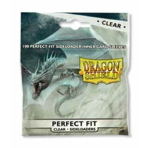 Dragon Shield Perfect Fit Side Load 100Ct Pack - Clear