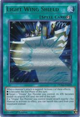 Light Wing Shield - DUSA-EN039 - Ultra Rare - 1st Edition