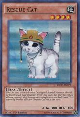 Rescue Cat - DUSA-EN072 - Ultra Rare - 1st Edition