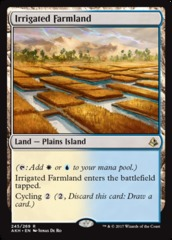 Irrigated Farmland on Channel Fireball