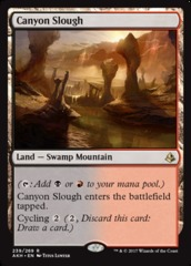 Canyon Slough - Foil on Channel Fireball