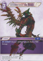 Adrammelech, the Wroth - 2-117R - Foil on Channel Fireball