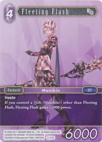 Fleeting Flash - 2-112C - Foil