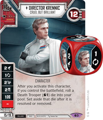 Director Krennic - Cruel but brilliant