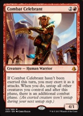 Combat Celebrant on Channel Fireball