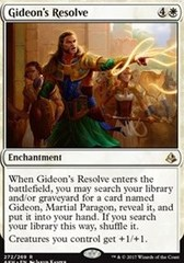 Gideon's Resolve (Planeswalker Deck)