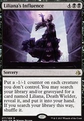 Liliana's Influence - Planeswalker Deck Exclusive