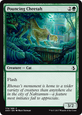 Pouncing Cheetah - Foil