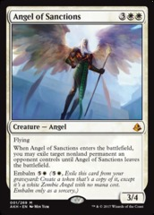 Angel of Sanctions - Foil on Channel Fireball