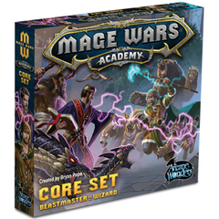 Mage Wars Academy: Beastmaster vs Wizard Core Set