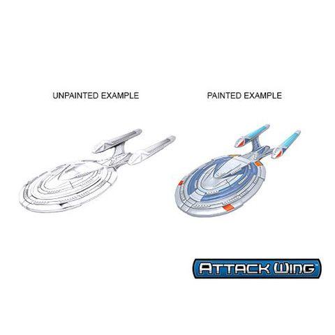 Defiant Class Attack Wing Star Trek Deep Cuts Unpainted Ships