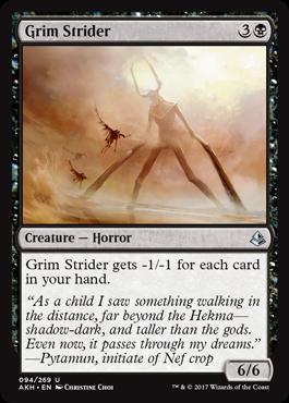 Grim Strider - Foil