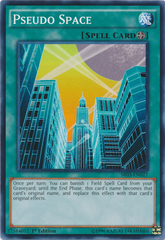 Pseudo Space - SR03-EN027 - Common - 1st Edition on Channel Fireball