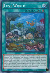 Lost World - SR04-EN021 - Super Rare - 1st Edition on Channel Fireball