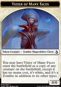 Token - Vizier of Many Faces