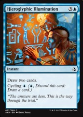 Hieroglyphic Illumination on Channel Fireball