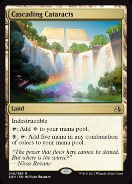Cascading Cataracts - Foil
