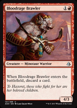 Bloodrage Brawler - Foil