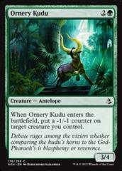 Ornery Kudu - Foil