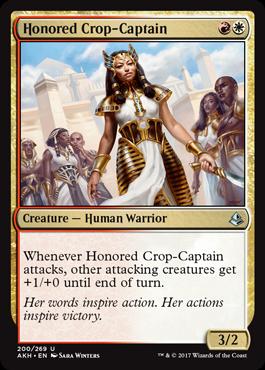 Honored Crop-Captain - Foil