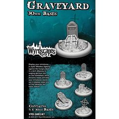 Wyrdscapes: Graveyard 30Mm