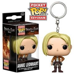 Pocket Pop! Keychain: Attack On Titan - Annie Leonhart
