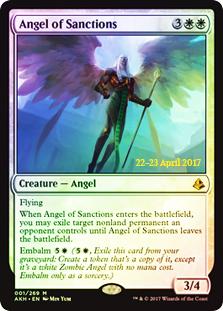 Angel of Sanctions - Foil - Prerelease Promo
