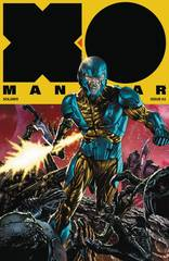 X-O Manowar #3 1:20 Mico Suayan Cover C Variant