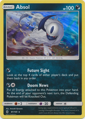 Absol - 81/145 - Holo Rare on Channel Fireball