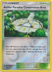 Aether Paradise Conservation Area - 116/145 - Uncommon - Reverse Holo