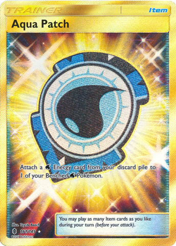 Aqua Patch - 161/145 - Secret Rare