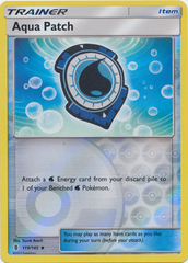 Aqua Patch  - 119/145  - Uncommon - Reverse Holo