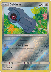 Beldum  - 83/145  - Common - Reverse Holo