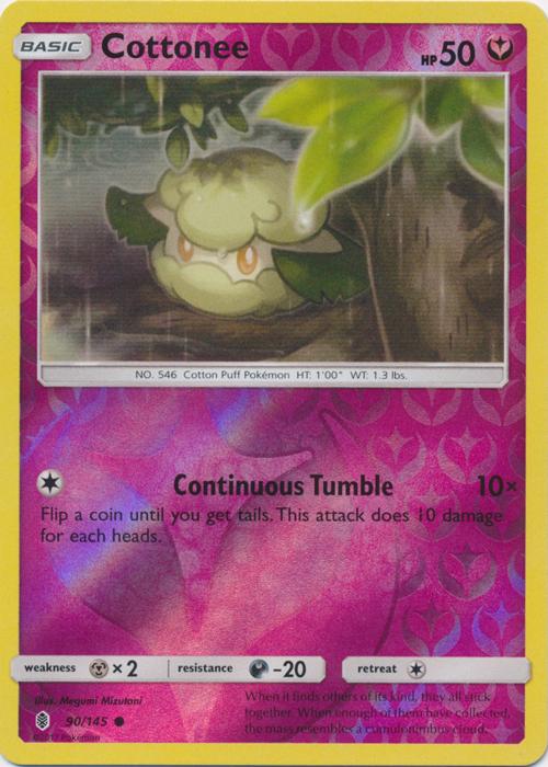 Cottonee - 90/145 - Common - Reverse Holo