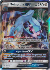 Metagross GX - 85/145 - Ultra Rare
