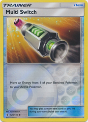 Multi Switch  - 129/145  - Uncommon - Reverse Holo