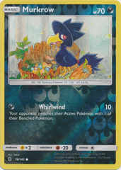 Murkrow - 78/145 - Common - Reverse Holo