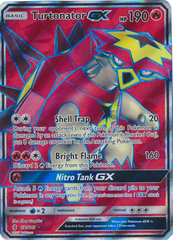 Turtonator GX - 131/145 - Full Art Ultra Rare