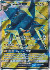 Vikavolt GX - 134/145 - Guardians Rising Full Art Ultra Rare